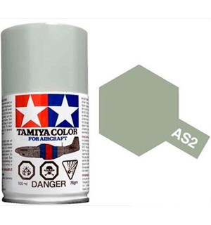 Tamiya Airspray AS-2 Light Gray Tamiya 86502 - 100ml