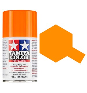 Tamiya Airspray TS-96 Fluorescent Orange Tamiya 85096 - 100ml
