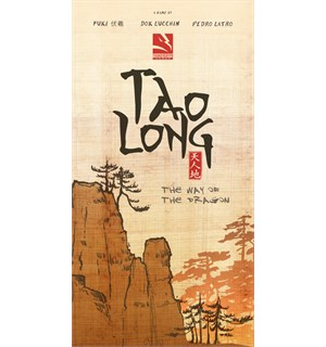 Tao Long Way of the Dragon Brettspill