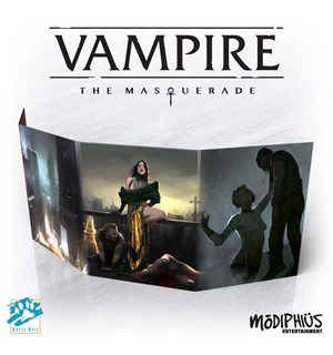 Vampire Masquerade Storyteller Screen 5th Edition