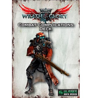 Warhammer 40K RPG Combat Complication Wrath & Glory - Deck