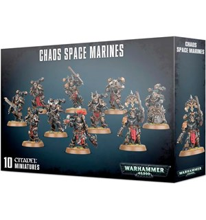 Chaos Space Marines Warhammer 40K