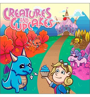 Creatures & Cupcakes Brettspill