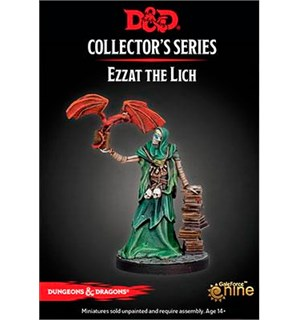 D&D Figur Coll. Series Ezzat the Lich Dungeons & Dragons Collectors Series