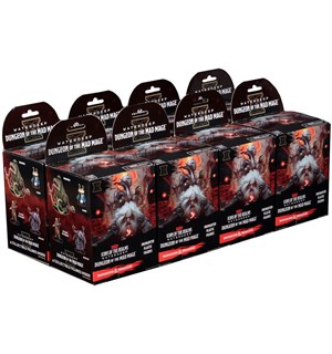 D&D Figur Icons Dungeon of Mad Mage x32 Display - 8 bokser á 4 figurer per boks