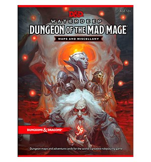 D&D Maps Waterdeep Dungeon of Mad Mage Dungeons & Dragons