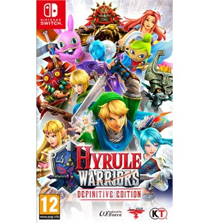 Hyrule Warriors Definitive Ed Switch