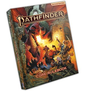 Pathfinder 2nd Ed Core Rulebook Second Edition RPG