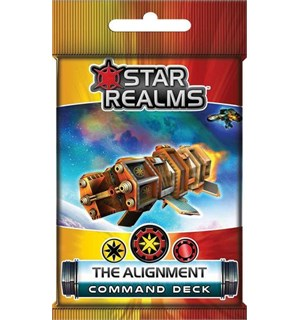 Star Realms The Alignment Expansion Command Deck til Star Realms