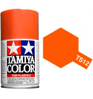 Tamiya Airspray TS-12 Orange Tamiya 85012 - 100ml