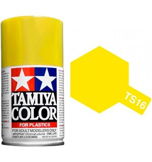Tamiya Airspray TS-16 Yellow Tamiya 85016 - 100ml