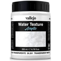 Vallejo Water Transparent Water 200ml Water Texture Acrylic