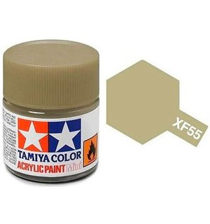 Akrylmaling MINI XF-55 Deck Tan Tamiya 81755 - 10ml