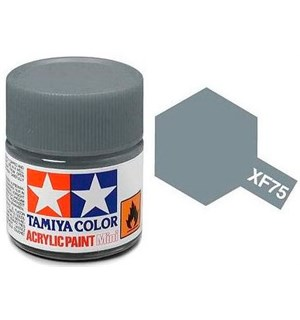 Akrylmaling MINI XF-75 IJN Gray Tamiya 81775 - 10ml