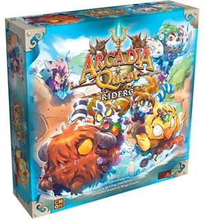 Arcadia Quest Riders Expansion Utvidelse til Arcadia Quest & AQ Infero