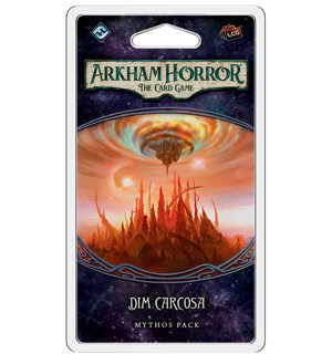 Arkham Horror TCG Dim Carcosa Exp Utvidelse til Arkham Horror Card Game