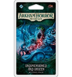 Arkham Horror TCG Undimensioned & Unseen Utvidelse til Arkham Horror Card Game