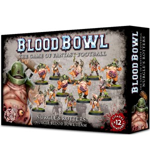 Blood Bowl Team Nurgles Rotters Nurgle Blood Bowl Team