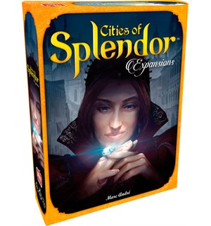 Cities of Splendor Expansion Utvidelse til Splendor