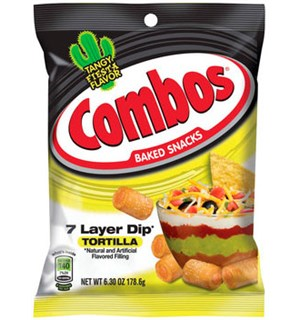 Combos 7 Layer Dip Tortilla - 178,6g