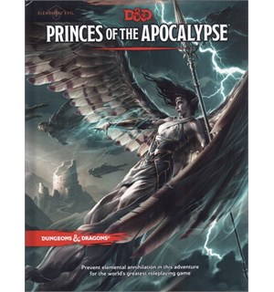 D&D Adventure Princes of the Apocalypse Dungeons & Dragons Scenario Level 1-15