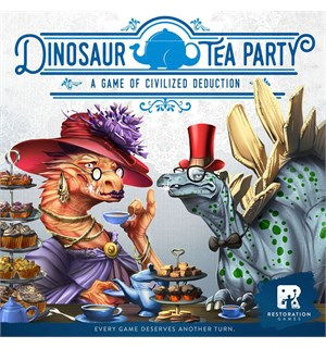 Dinosaur Tea Party Kortspill
