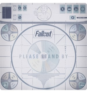 Fallout Please Stand By Gamemat Spillematte til Fallout Board Game