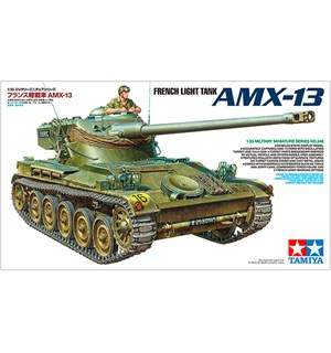 French Light Tank AXM-13 Tamiya 1:35 Byggesett