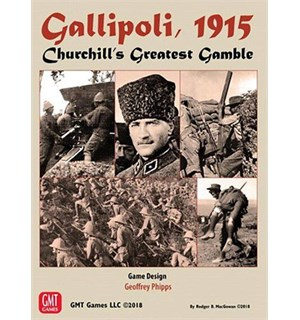 Gallipoli 1915 Brettspill Churchill's Greatest Gamble