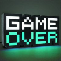 Game Over Lampe 8-Bit 30 cm