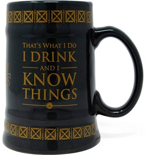Game of Thrones Kopp Drink &Know Things