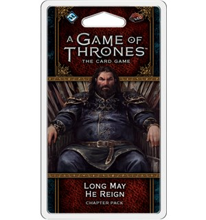 Game of Thrones TCG Long May He Reign Utvidelse til Game of Thrones Card Game