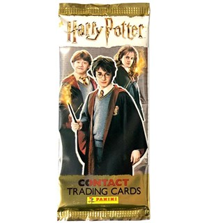 Harry Potter Contact Samlekort Booster Trading Cards - 5 kort per pakke