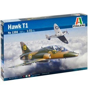 Hawk T1 Italeri 1:72 Byggesett