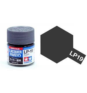 Lakkmaling LP-19 Gun Metal Tamiya 82119 - 10ml