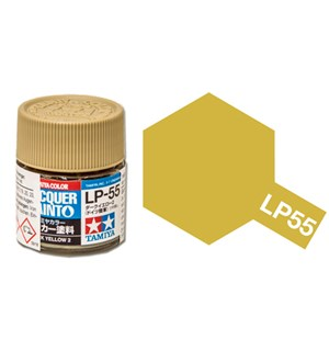 Lakkmaling LP-55 Dark Yellow 2 Tamiya 82155 - 10ml