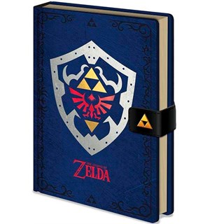 Legend of Zelda Notatbok Hylian Shield