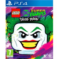 Lego DC Super Villains Deluxe Ed. PS4 Deluxe Edition