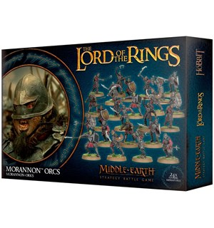Lord of the Rings Morannon Orcs Middle-Earth Strategy Battle Game