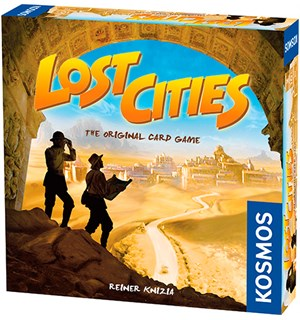 Lost Cities Kortspill - Norsk utgave