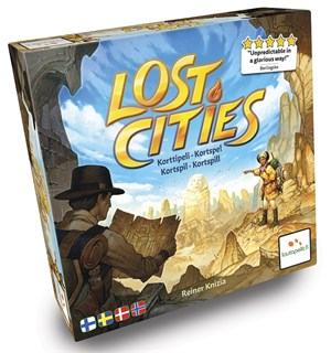 Lost Cities Kortspill Norsk utgave