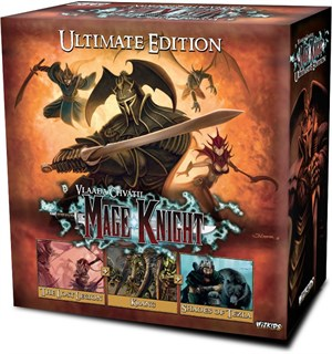 Mage Knight Ultimate Edition Brettspill