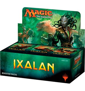 Magic Ixalan Display 36 pakker á 15 kort per pakke