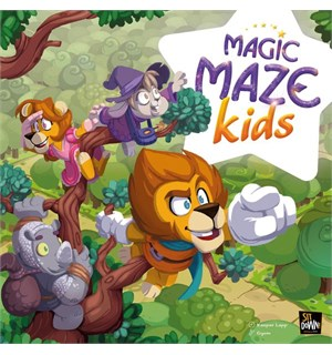 Magic Maze Kids Brettspill