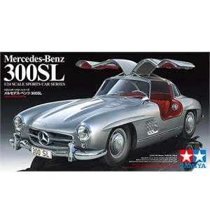 Mercedes-Benz 300SL Tamiya 1:24 Byggesett