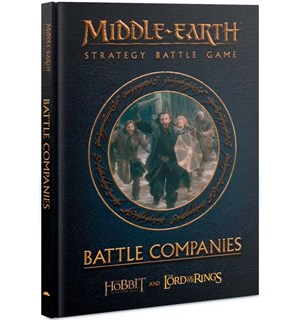 Middle-Earth Battle Companies (Bok) LOTR/The Hobbit Strategy Battle Game