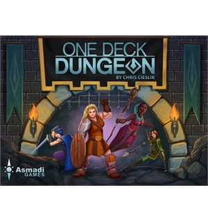 One Deck Dungeon Kortspill Versjon 1.5