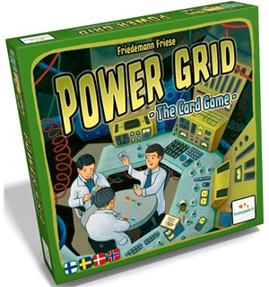 Power Grid The Card Game Norsk Utgave Kortspill