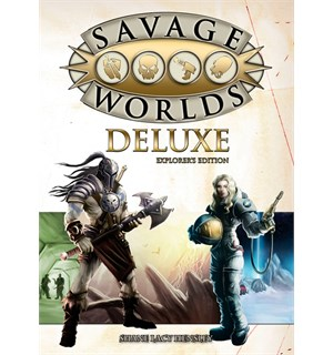 Savage Worlds RPG Deluxe Explorers Ed. Roleplaying Game - Regelbok