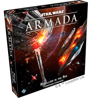 Star Wars Armada Rebellion in the Rim Utvidelse til Star Wars Armada